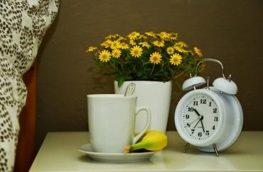 beyaz-masa-saati-ve-saksi-ile-bas-ucu-dekoru