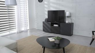 modern-siyah-tv-uniteli-salon-dekorasyonu