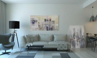 soyut-tablolarla-dekore-edilmis-modern-salon