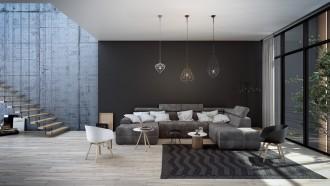 metal-kafes-aydinlatmalarla-tamamlanan-modern-gri-kose-koltuk