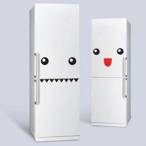 Eğlenceli Buzdolabı Stickerları