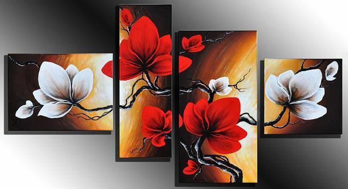 Kanvas Tablo Çiçekler