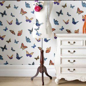 Koçtaş Kelebekli Duvar Kağıdı Modelleri