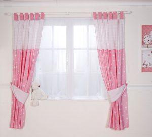 Kız Çocuk Odası Perde Örnekleri