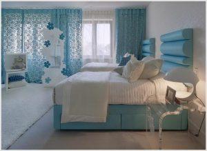 Turkuaz Yatak Odası Modelleri
