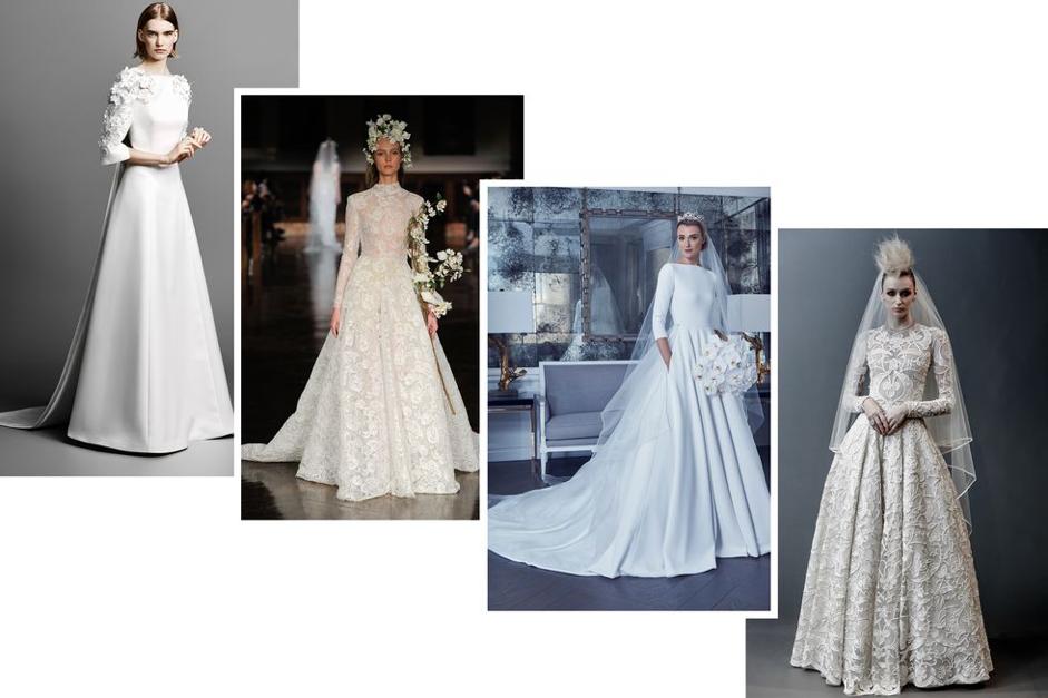 Kraliyet Düğünü Gelinlik Modelleri