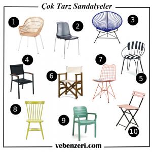 balkon sandalye modelleri ve fiyatları