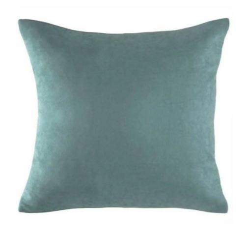 su yeşili yastık kılıfı