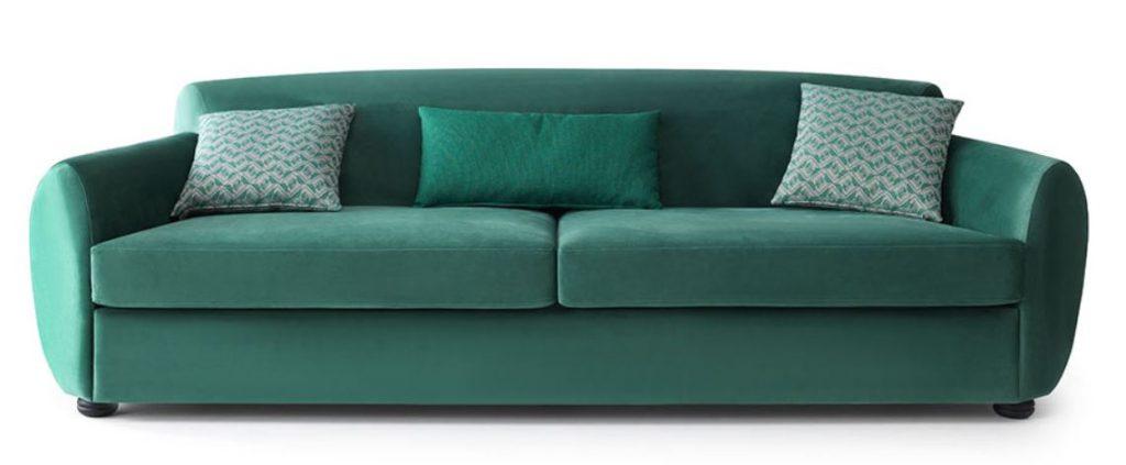 loda mobilya yeşil koltuk
