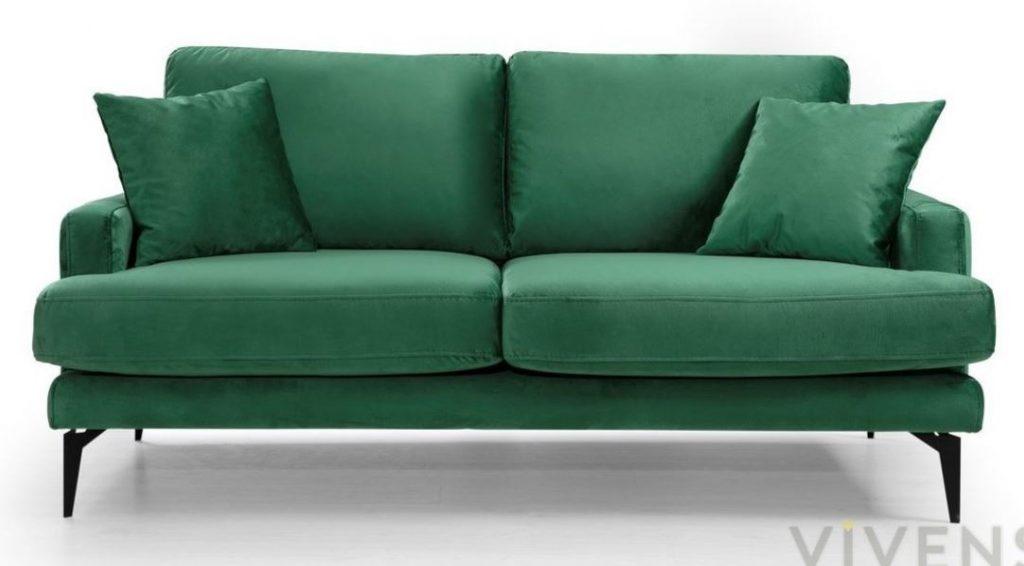 vivense matilda yeşil koltuk
