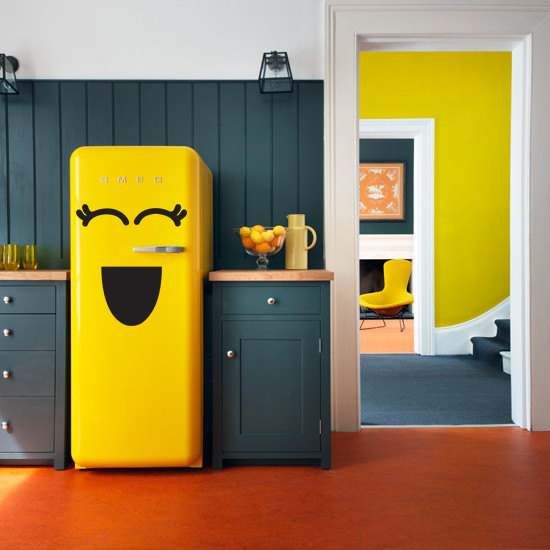 Buzdolabı Stickerları Renkli