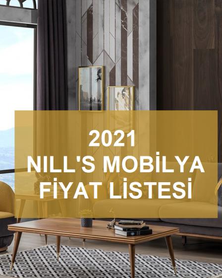 2021 Nill's mobilya fiyat listesi