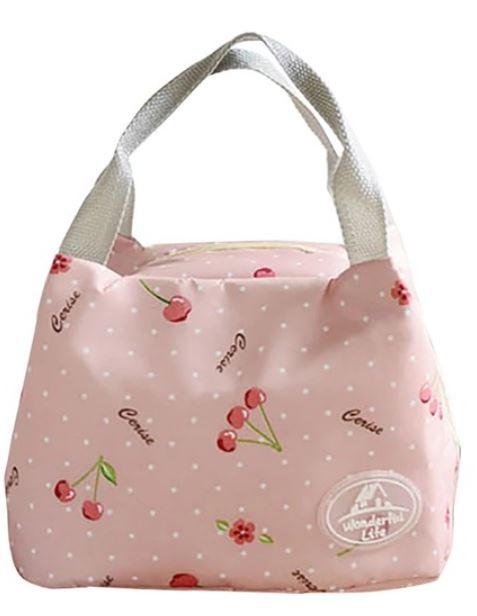 kiraz desenli mama çantası seyahat boy