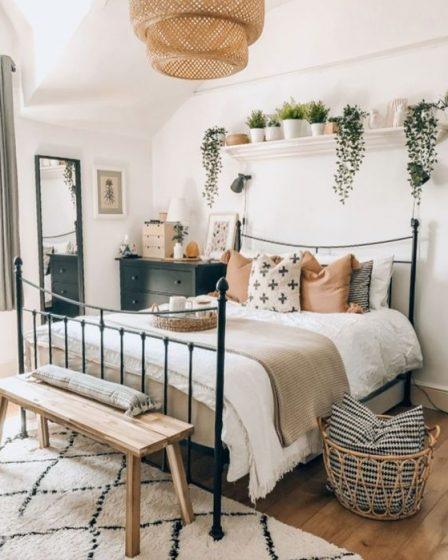 bphem yatak odası dekorasyonu